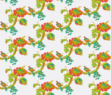 Botanical Paradise Tree fabric by paragonstudios on Spoonflower - custom fabric