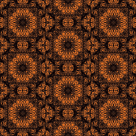 Gothic Doily fabric by coriander_shea on Spoonflower - custom fabric