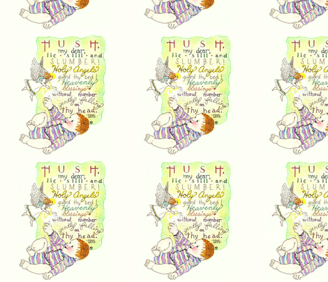 Baby Blessing fabric by joybucket on Spoonflower - custom fabric