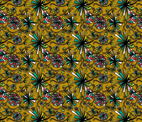 Zing fabric by qwerter on Spoonflower - custom fabric