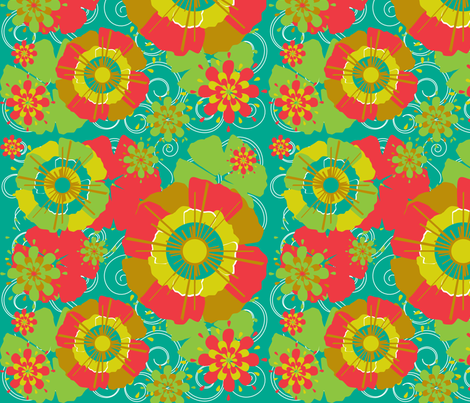 botanicals3 fabric by artimated on Spoonflower - custom fabric