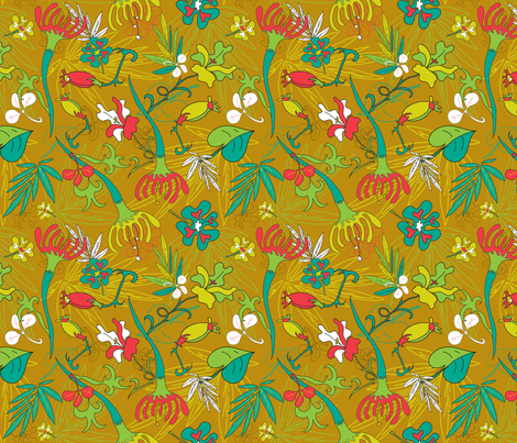 Copacabotanical fabric by madam0wl on Spoonflower - custom fabric