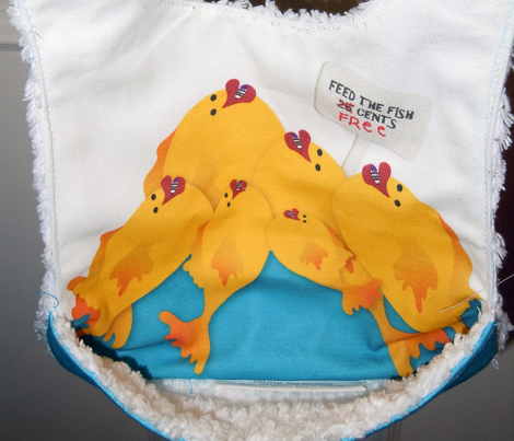 Feed the Fish Bib