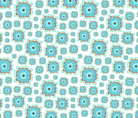 floating on air fabric by lovefrombeth on Spoonflower - custom fabric