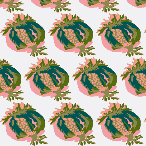 Paradise rococo / fruit fabric by paragonstudios on Spoonflower - custom fabric