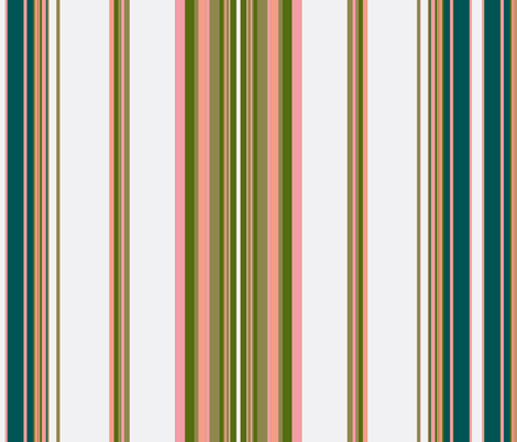 Paradise rococo / stripe  fabric by paragonstudios on Spoonflower - custom fabric