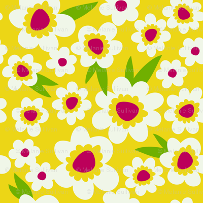 Daisy Pop Yellow