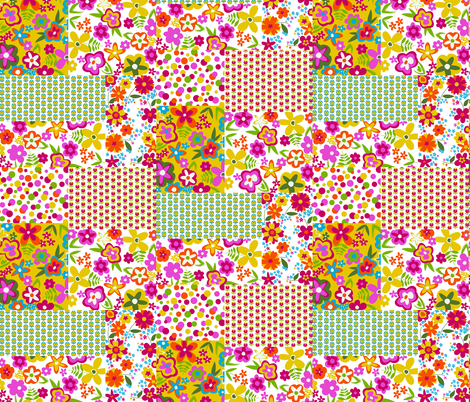 Daisy Pop Patchwork