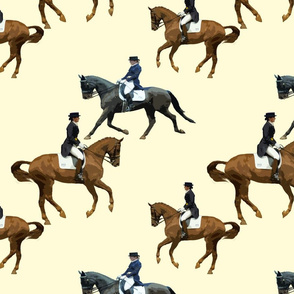 Carriage Trade Dressage Natural White