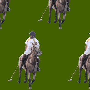 Carriage Trade Polo Olive