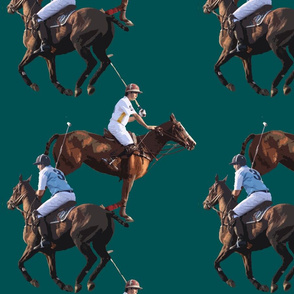 Carriage Trade Melee Teal