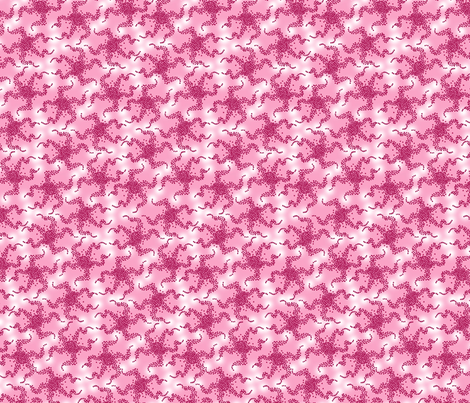 pink_star_fish fabric by lovefrombeth on Spoonflower - custom fabric