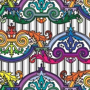 Rainbow Rococo