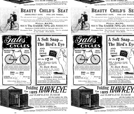 Cycles and Cameras Vintage Ads
