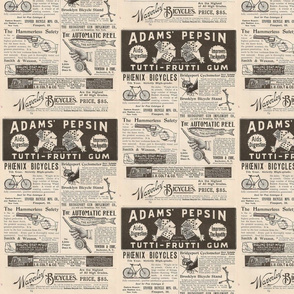 Full Page of 1895 Ads