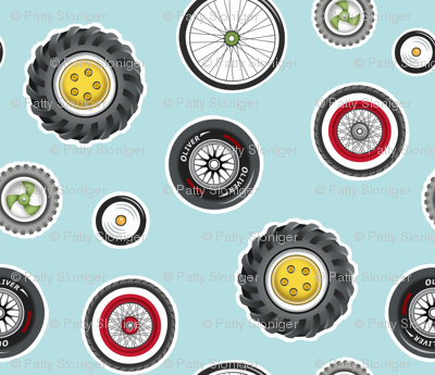 Wheels Wonderful Wheels