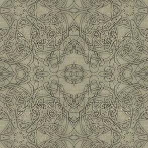 Tangled Linen Flowers
