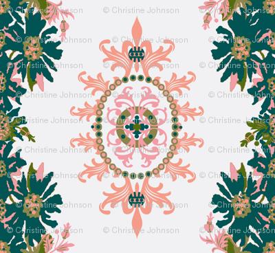 Paradise rococo / floral garland