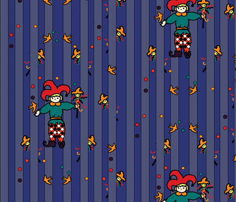 Jester's toys fabric by tracydb70 on Spoonflower - custom fabric