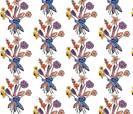 Fresh Cut Flatware fabric by ktcarey on Spoonflower - custom fabric