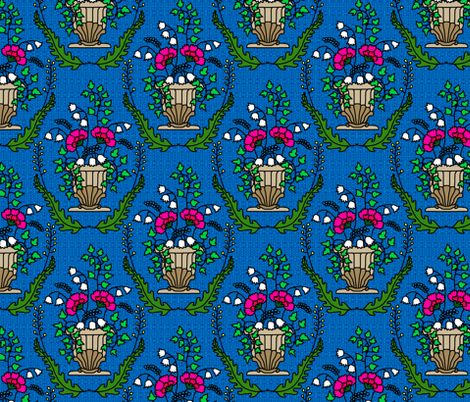 Rococo_redux fabric by victorialasher on Spoonflower - custom fabric