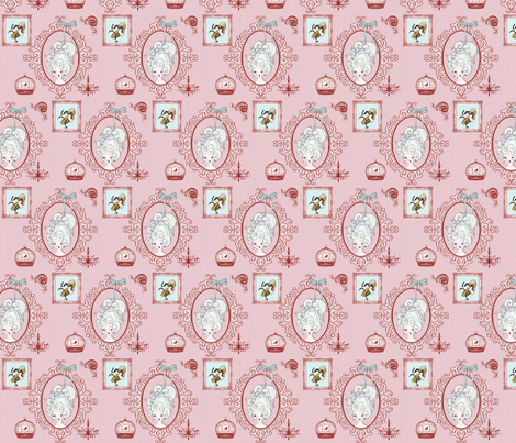 Ou_la_la fabric by hushaby&quirksdesigns on Spoonflower - custom fabric