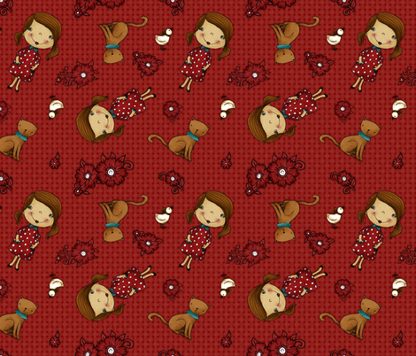 Anezka fabric by renule on Spoonflower - custom fabric