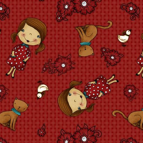 Anezka fabric by renule on Spoonflower - custom fabric