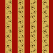 Cherry Blossom Stripe