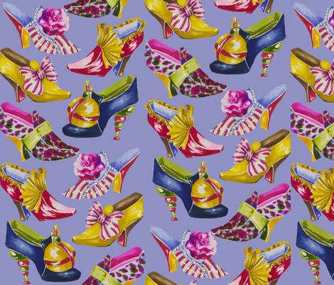 shoes fabric by maryshotwell on Spoonflower - custom fabric
