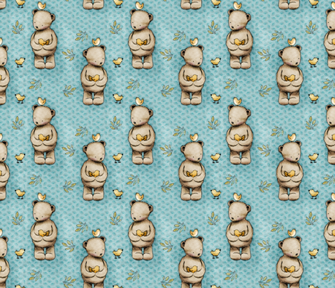 Bears fabric by renule on Spoonflower - custom fabric