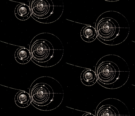 Bubble Chamber Physics fabric by emilyinorbit on Spoonflower - custom fabric
