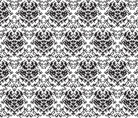 8-bit Ornament fabric by tinornament on Spoonflower - custom fabric