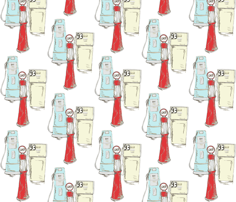 Fill Er Up fabric by sparegus on Spoonflower - custom fabric