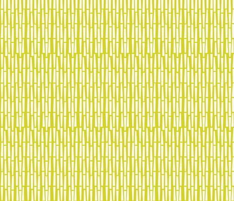 Lazy Lines: Lemon fabric by circlesandsticks on Spoonflower - custom fabric