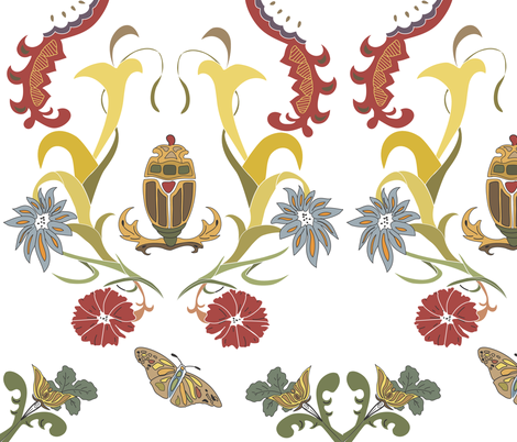 rococo_color__2 fabric by rekha on Spoonflower - custom fabric