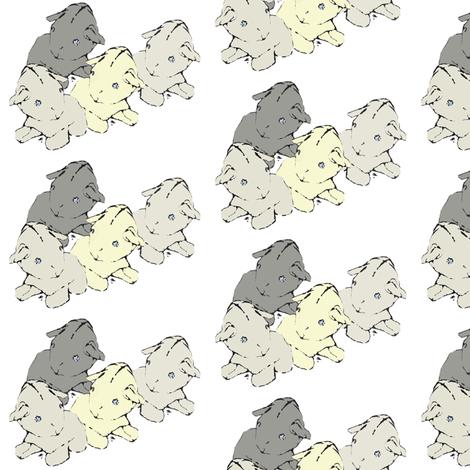 flock fabric by sparegus on Spoonflower - custom fabric