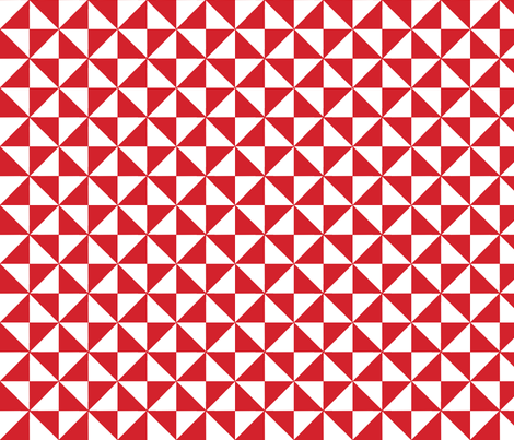 pinwheel red fabric by holli_zollinger on Spoonflower - custom fabric