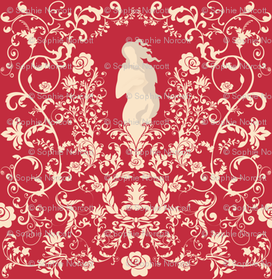 Rococo in Red