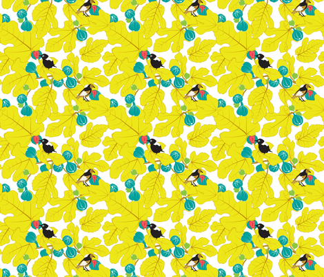 Magical_Fruit - smaller fabric by newmom on Spoonflower - custom fabric