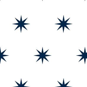 Navy Starburst