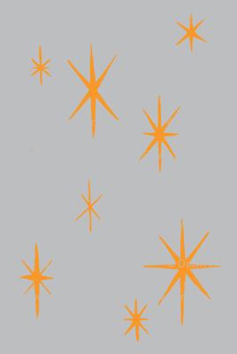 Mixers, Starbursts, grey and orange