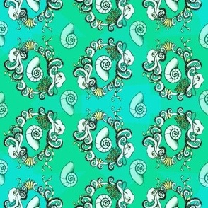 Neo Rococo Octopi
