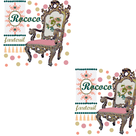 rococo dreams fabric by paragonstudios on Spoonflower - custom fabric