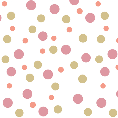 Rococo dream dots fabric by paragonstudios on Spoonflower - custom fabric