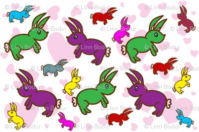 my bunny valentine