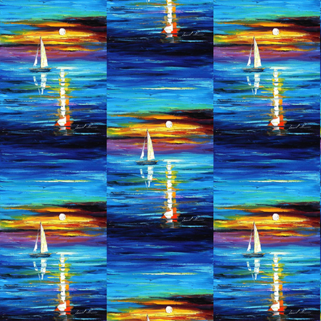 Horizon fabric by afremov_designs on Spoonflower - custom fabric