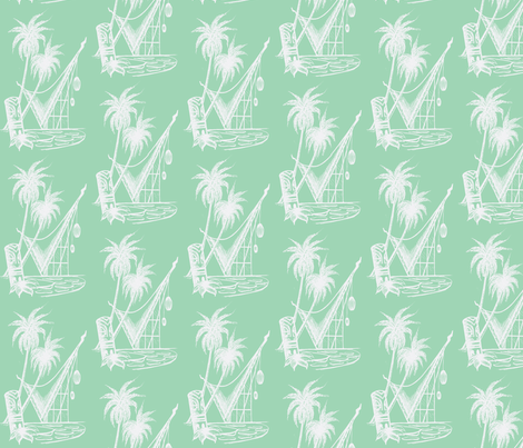 Waikikian  fabric by sophista-tiki on Spoonflower - custom fabric