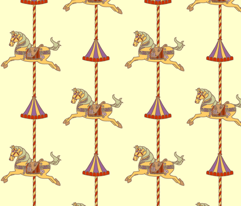Carousel fabric by kim_buchheit on Spoonflower - custom fabric