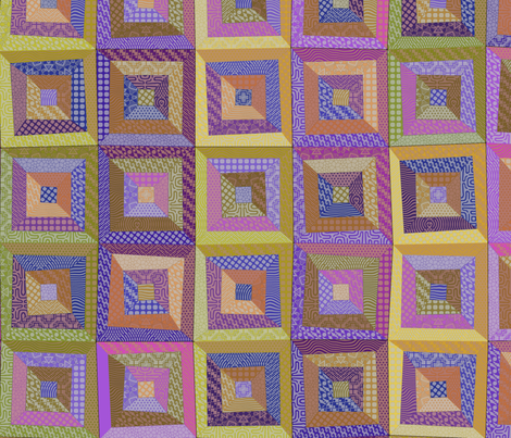 Cheerful Cheat fabric by ormolu on Spoonflower - custom fabric